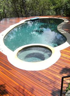 ipe deck and pool