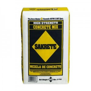 Sakrete - high strength concrete mix