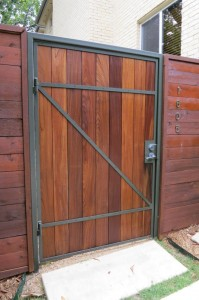 Gate ipe finished with Penofin