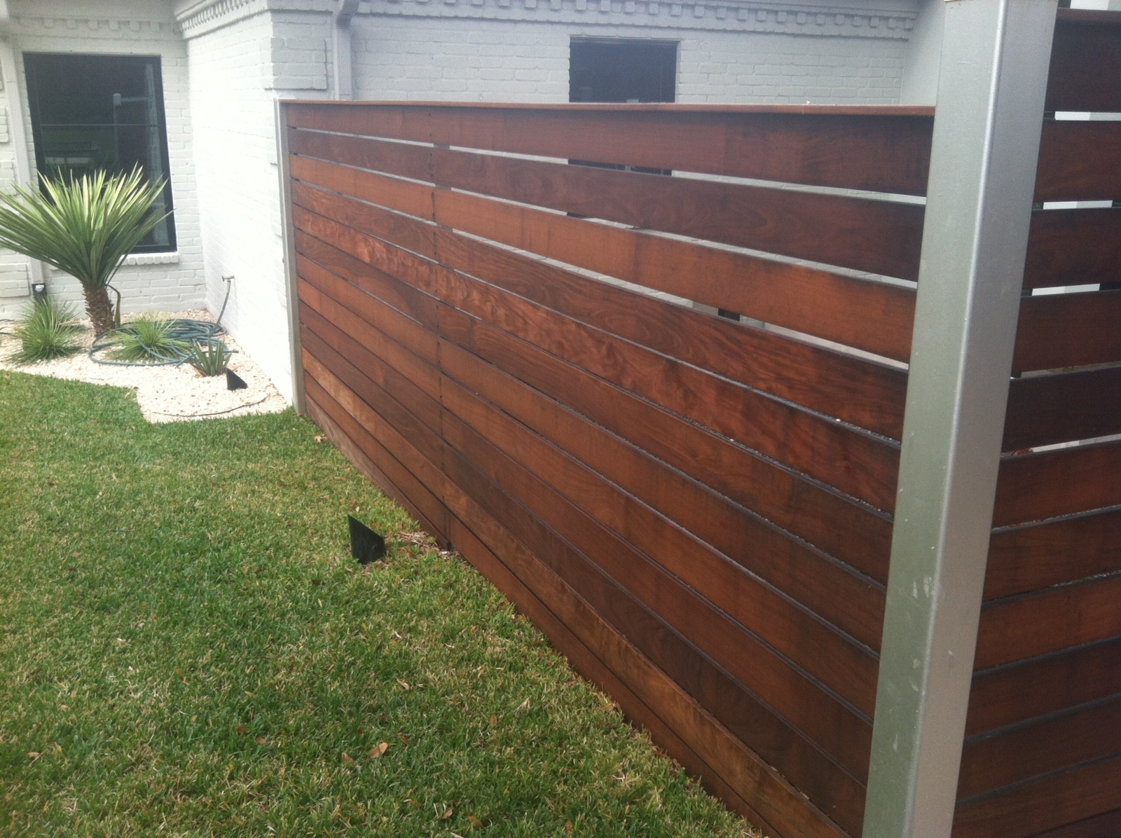 Ranch Carpentry Ipe Fence Front Porch And Tv Cover