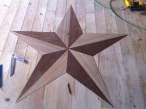 Craft Pride wood star by Gilbert Rose