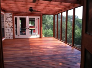 Tigerwood Porch