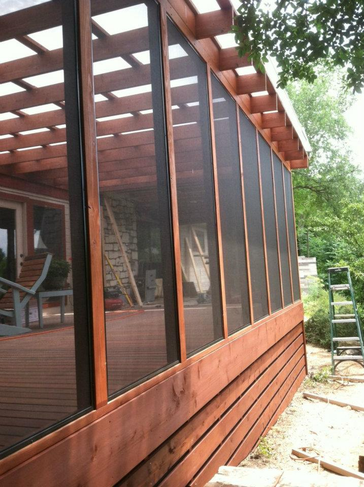 Cofty Construction Tigerwood Porch Eastside Lumber