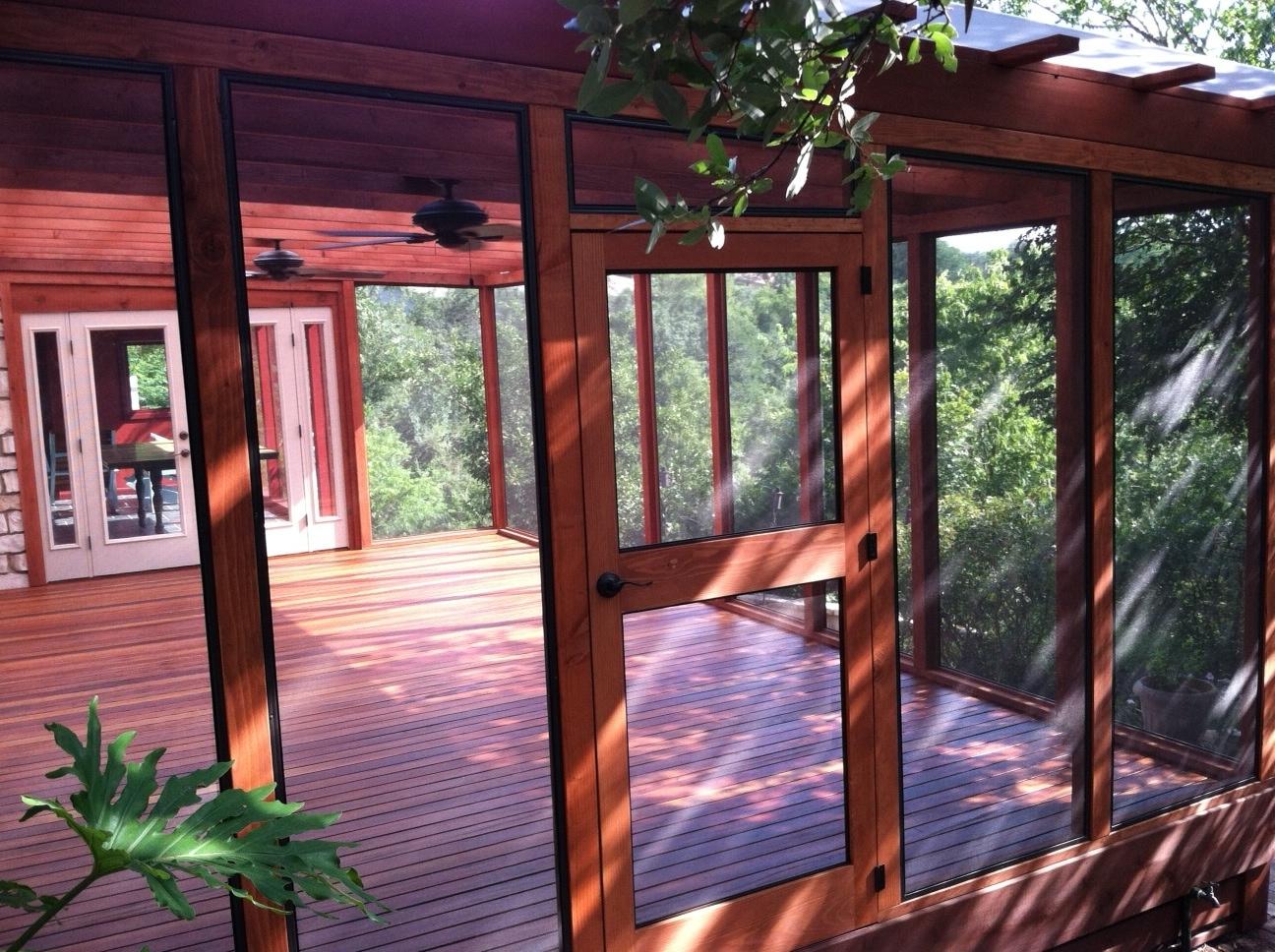 Cofty Construction Tigerwood Porch Eastside Lumber