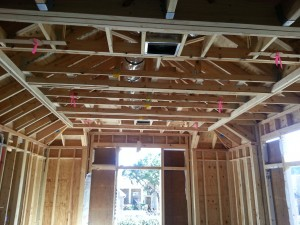 CG&S interior framing with Eastside Lumber