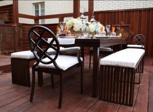 Abaco deck and table