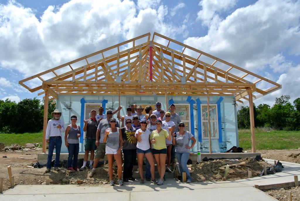 2013 Austin NARI Habitat House Build